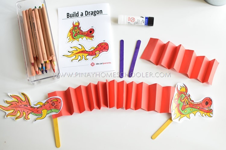 Building the Dragon Puppet