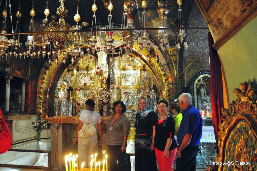 Голгофа, Храм Гроба Господня. Экскурсия по Иерусалиму. Гид в Израиле Светлана Фиалкова.