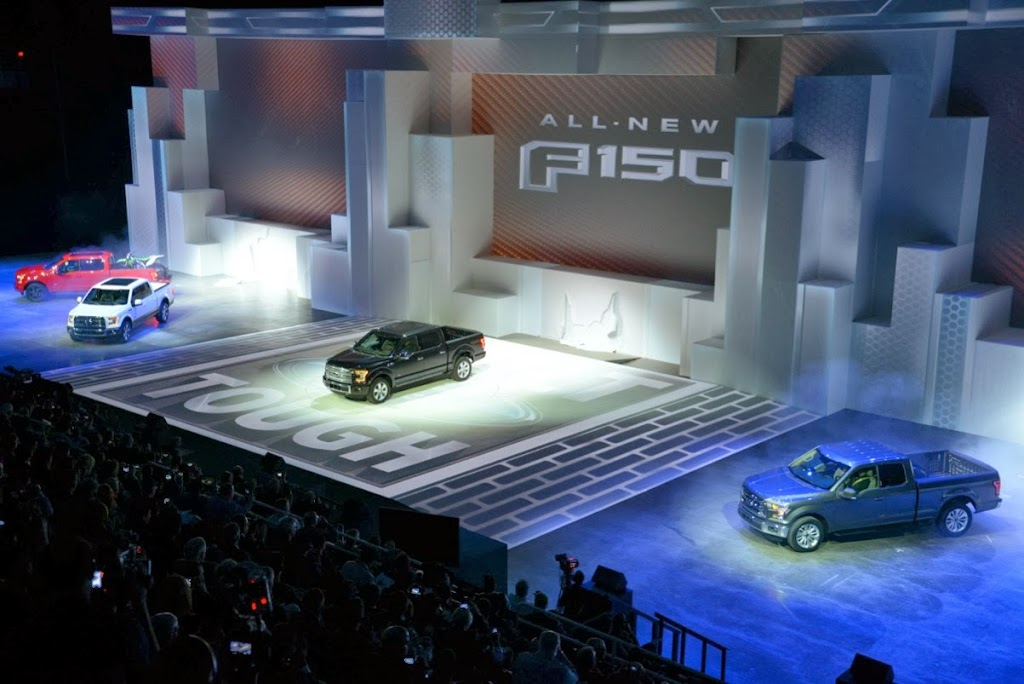 2015 Ford F-150 Unveiling NAIAS 5
