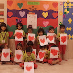 Introdution to Heart Shape in Nursery (2014-15) at Witty World
