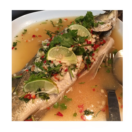 Mommy In The Kitchen: Thai Style Steamed Fish With Lemon Sauce