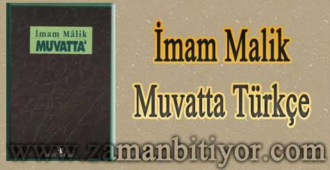 Muvatta Türkçe Hadis Kitabı İndir