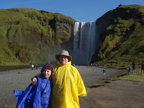 Photo: Our final full day was very full! We left before 8 AM and got home after midnight. First stop - Skogafoss.