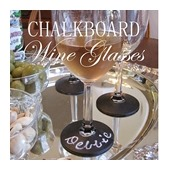 CONFESSIONS OF A PLATE ADDICT DIY Chalkboard Wine Glasses
