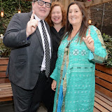 OIC - ENTSIMAGES.COM - Tom Watson, Sarah Jane Morris, and Lynne Franks at the One Billion Rising For Justice Photo Call at The House of St Barnabas London 10th February 2015 Photo Mobis Photos/OIC 0203 174 1069