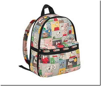 Peanuts X LeSportsac 7812 Basic Backpack 04