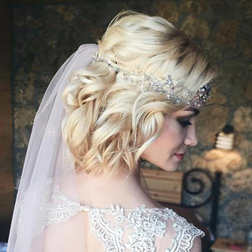 The trendy Wedding Hairstyles For And include hair color 2017 7
