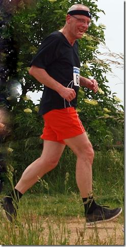 Eine Ablichtung meiner Person beim Joggathon 2015