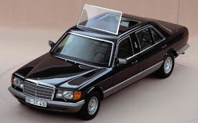 1985 Mercedes S Popemobile