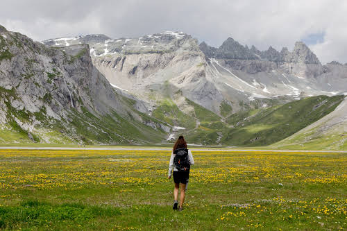Best Hikes in Europe for Long Distance Hiking Trails // Switzerland Sardona Path Photo Credit Les Berlinettes