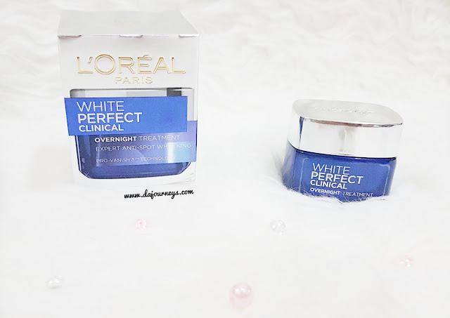 White Perfect Clinical Overnight Treatment Cream