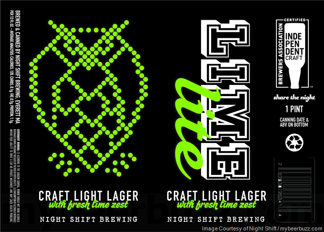 Night Shift Adding Lime Lite 16oz Cans