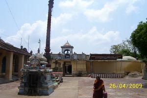 Thiruvazhundur Temple Flagstaff (Kodimaram)