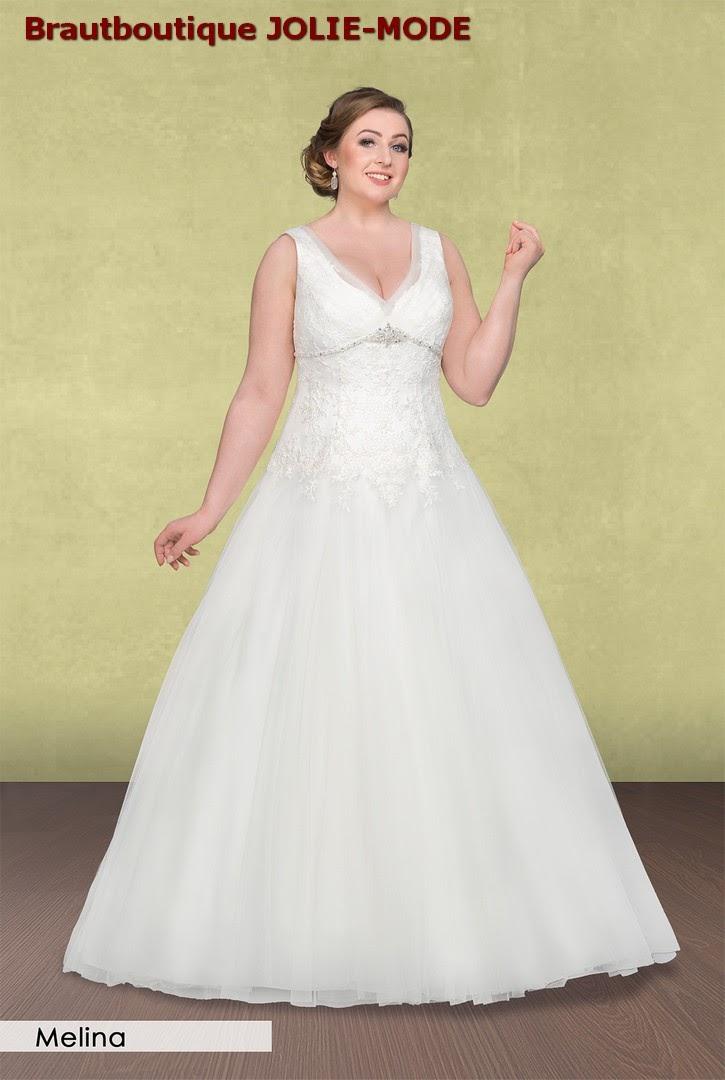 Jolie Mode Grosse Grossen Brautmode Brautkleider