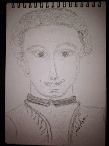 my image of saint Germain