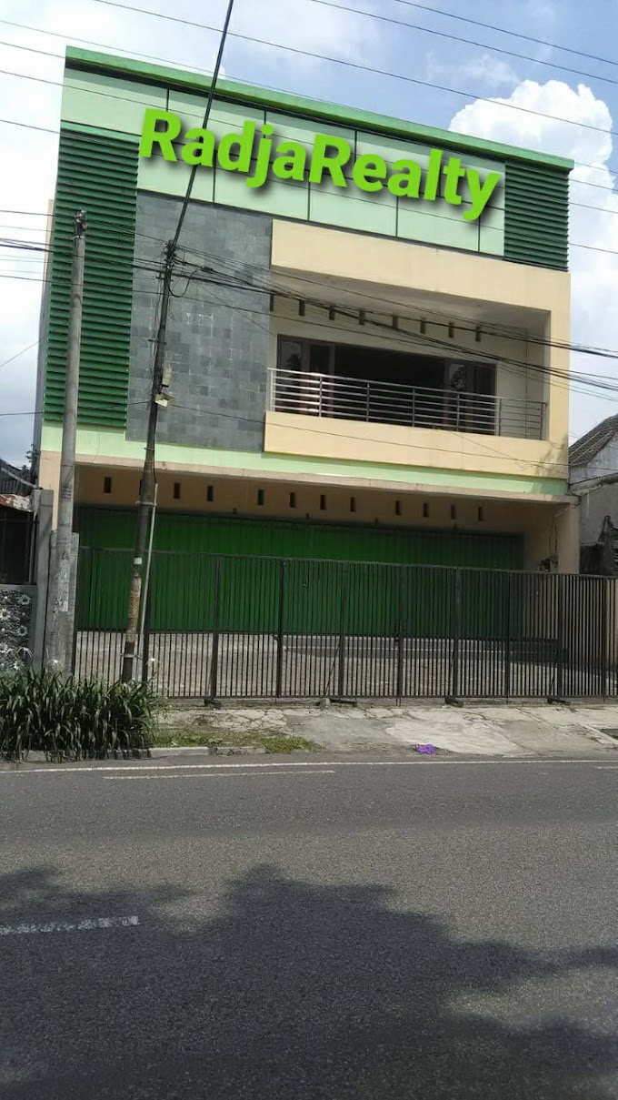 Ruko Ruang Usaha Luxury 3 Lantai Tengah Kota Pinggir Jalan Kusumanegara Kodya