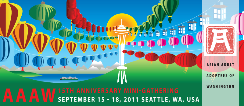 AAAW (Asian Adult Adoptees of Washington) 15th Anniversary Mini-Gathering