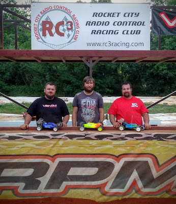 2WD Buggy Mod - 1st: Spencer Glasgow, 2nd: Daniel Myers, 3rd: Freddy Marsh