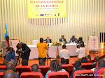 Conférence de presse animée par Alexis Thambwe Mwamba, ministre congolais de la Justice et Droits humains le 27/04/2015 à Kinshasa, lors de l'ouverture des travaux sur les états généraux de la Justice. Radio Okapi/Ph. John Bompengo