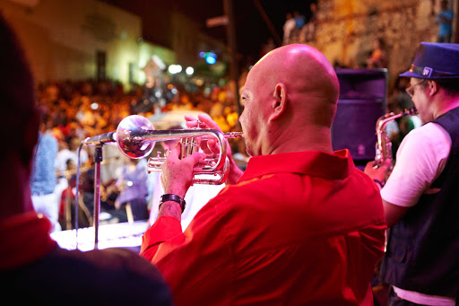 DR-Local-Trumpet-Player-2.jpg - Attend a concert in Puerto Plata in the Dominican Republic on a Carnival cruise.