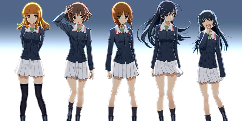 girls und panzer anime