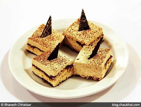 Tiramisu Cake at Dezio, Kalyani Nagar, Pune