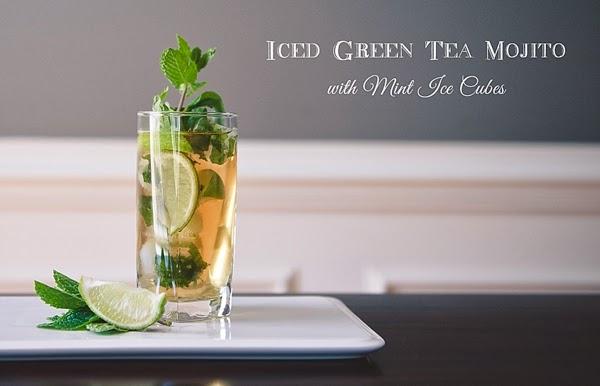 old favorite mojito new twist iced green tea mojito with