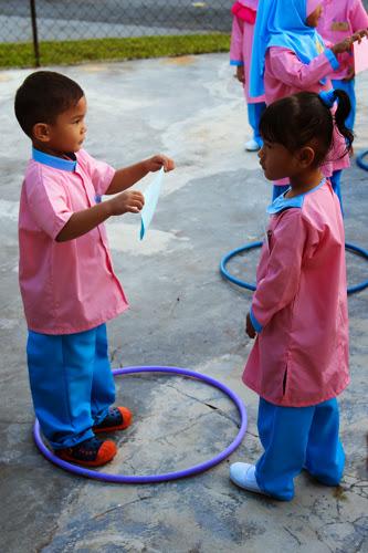 hari pertama tadika
