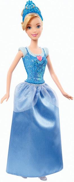 Đồ chơi Búp bê nàng Lọ Lem Cinderella Disney Princess Mattel BBM21