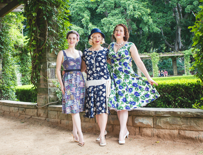 Vintage Girls forever ~ A Wild Tea Party, Miss Harlow Darling and Lavender & Twill | Lavender & Twill