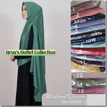 khimar mutiara bubble pop