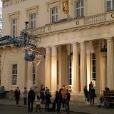 Сьемки фильма в Лондоне