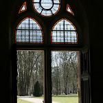 Abbaye de Royaumont : passage-parloir, actuelle entrée