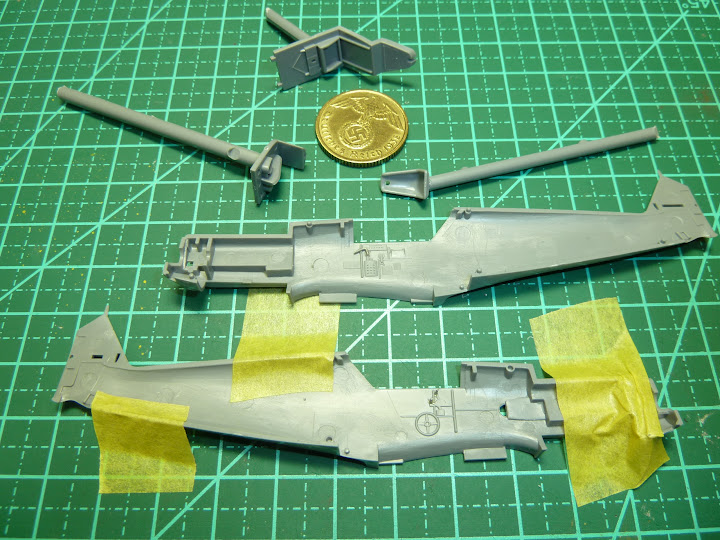 "Messerschmmit Bf 109 E-3 - Major Hans ""Assi"" Hahn P1030876"