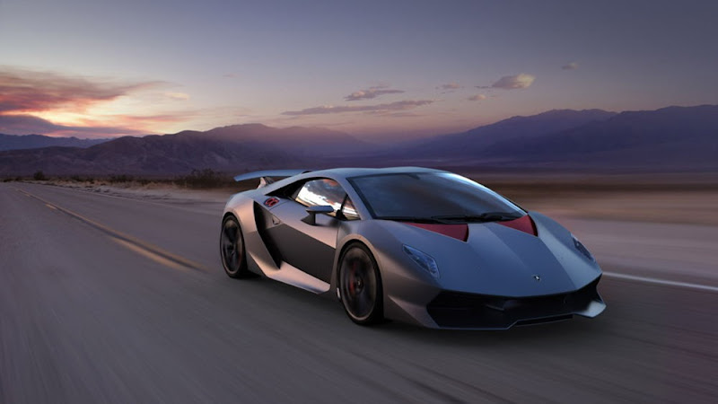 New Bold design of Lamborghini Sesto Elemento