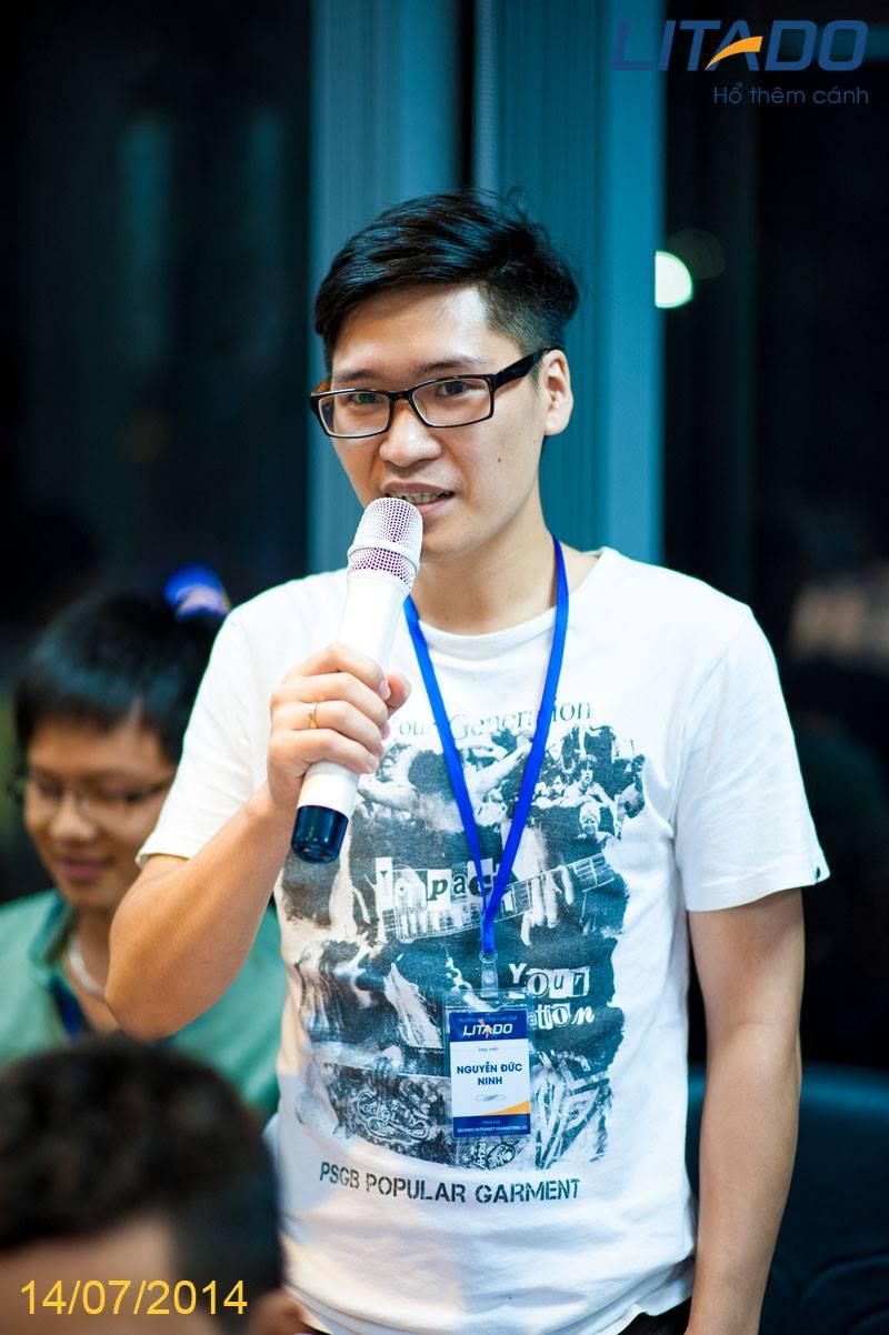 Học viên khóa K33 Litado Nguyễn Đức Ninh ninhnd 1989
