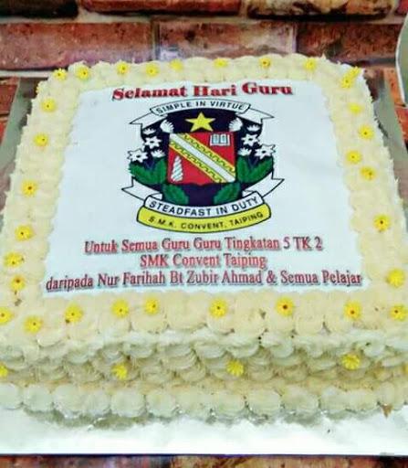 Kek Selamat Hari Guru Dari Zura Cup Cakes