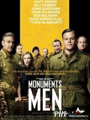 Phim Kho báu bị đánh cắp (Cổ vật bị đánh cắp) - The Monuments Men (2014)