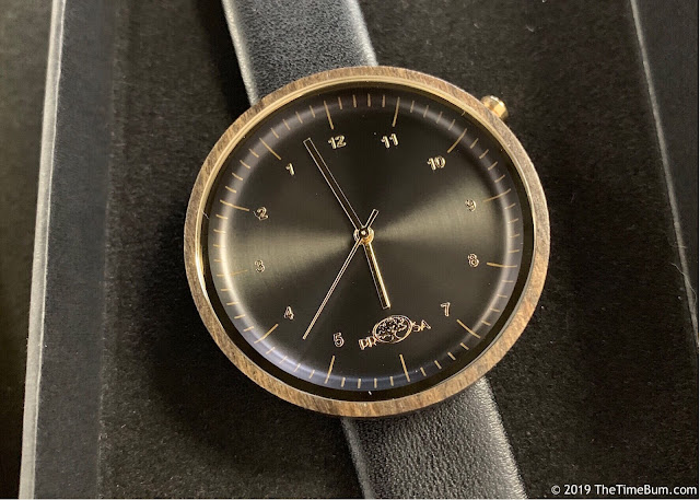 Prosawood Venus watch
