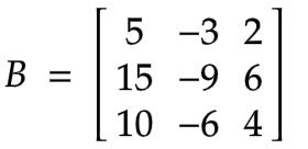 example of 3 x 3 nilpotent matrix