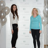 WWW.ENTSIMAGES.COM -      Heathly Eating expert Sophie Bradshaw and personal trainer Nicole Attrill         attend a photocall to launch the new website Celebrity Training with Samantha Faiers at The Worx Studio's on January 6th 2015                                           Photo Mobis Photos/OIC 0203 174 1069