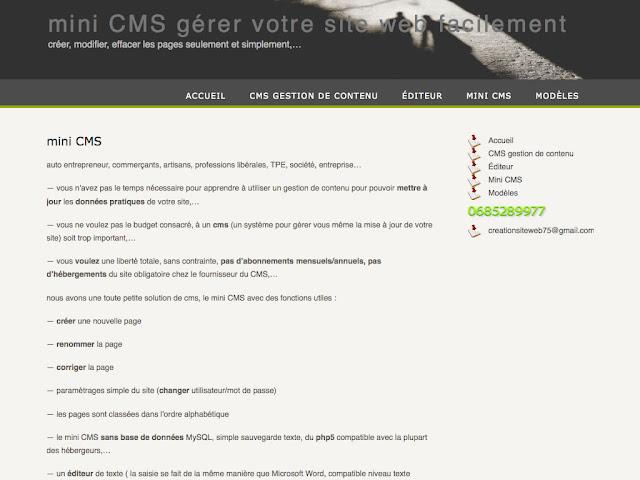 Mini CMS 1.4 - 1024x768