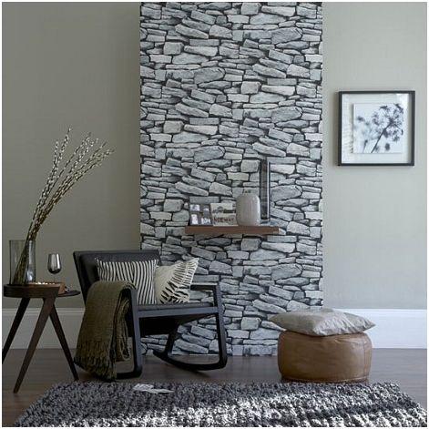 Piedras on pinterest paredes de piedra stone walls and - Pared piedra salon ...
