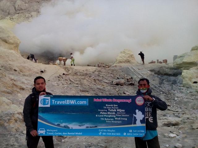 Paket Tour Wisata Kawah Ijen Crater Travel BWi Banyuwangi