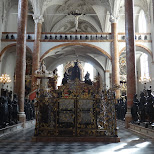 inside the imperial church of kenotaph maximilian I in Innsbruck, Tirol, Austria