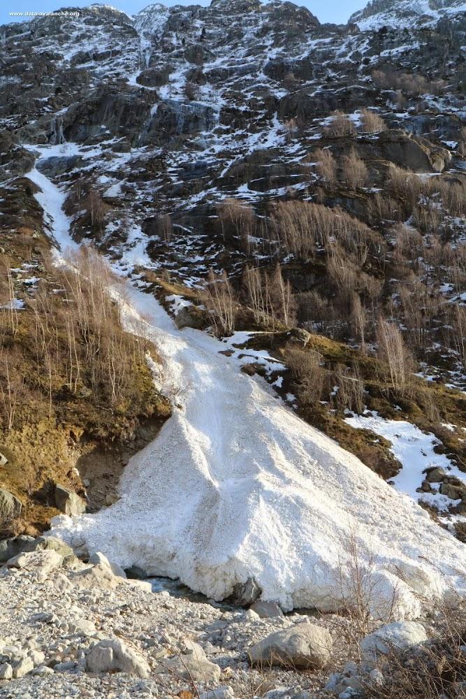 Avalanche Ecrins, secteur Aig des Etages, Combe du Cloutet - Photo 1