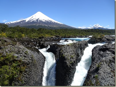 orsmo Volcano and Petrohue Falls
