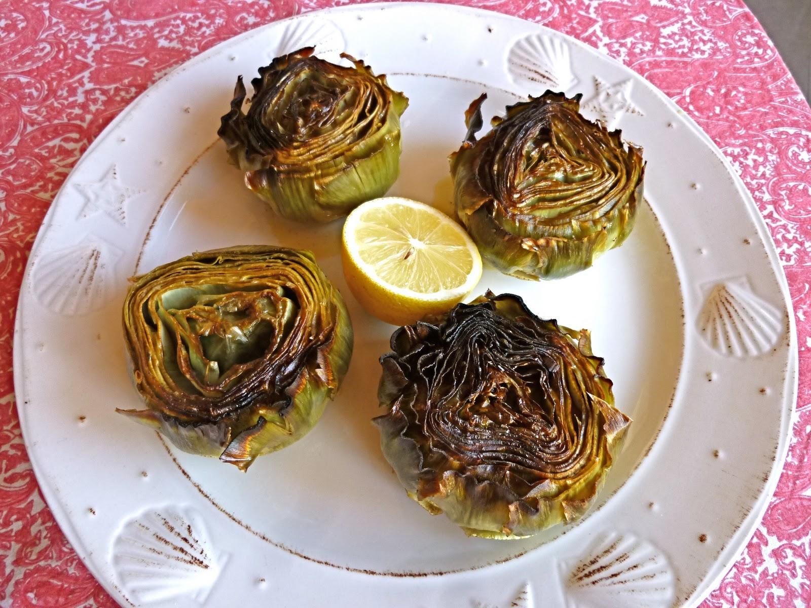 Como Cocinar Alcachofas Al Horno | Captura De Fotones Alcachofas Solares Al Horno