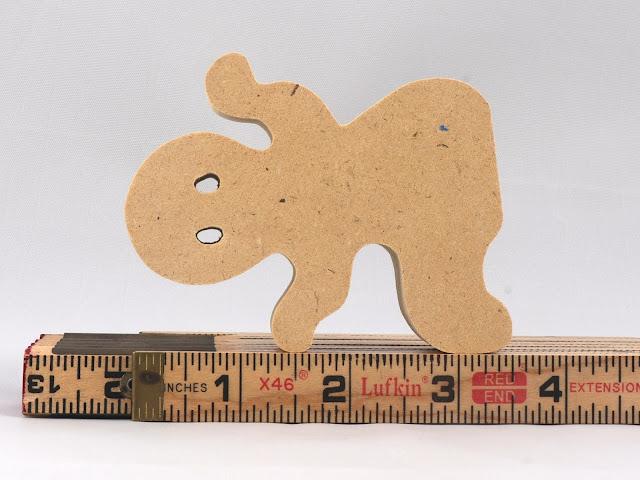 Handmade Toy Halloween Ghost Cutout