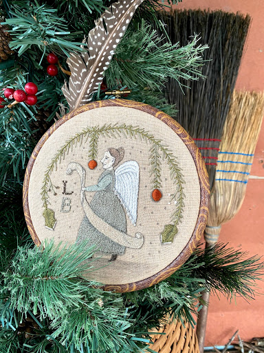 Angel Embroidery Tutorial